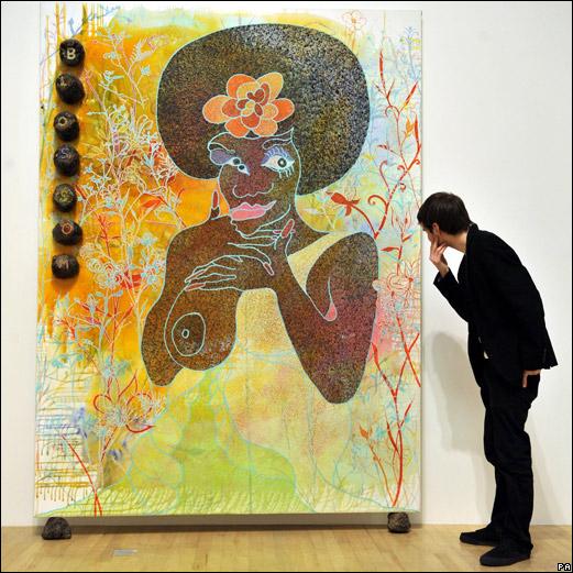 De la merde plein les yeux! Venez découvrir la pratique de l'artiste Chris Ofili!