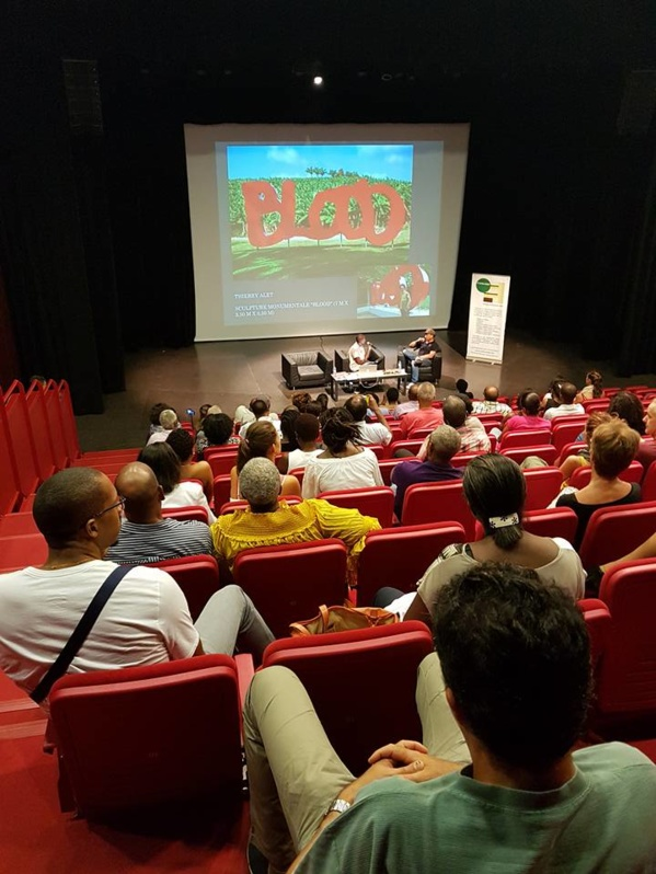 A nice audience for our last talk at MACTe. Photo: MACTe