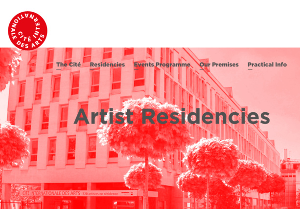 Call for a residency in Paris: 2019 Cité internationale des arts