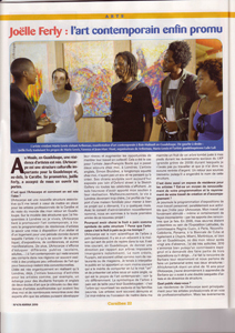 L'art contemporain en Guadeloupe - Contemporary art in Guadeloupe