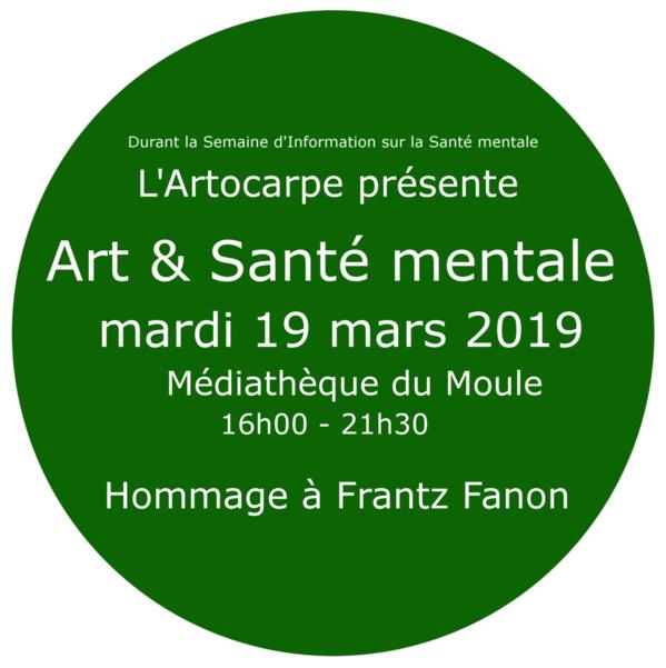 Copie de Next Talk - Prochaine séries de conférences: Art & Santé mentale -  mardi 19 mars 2019