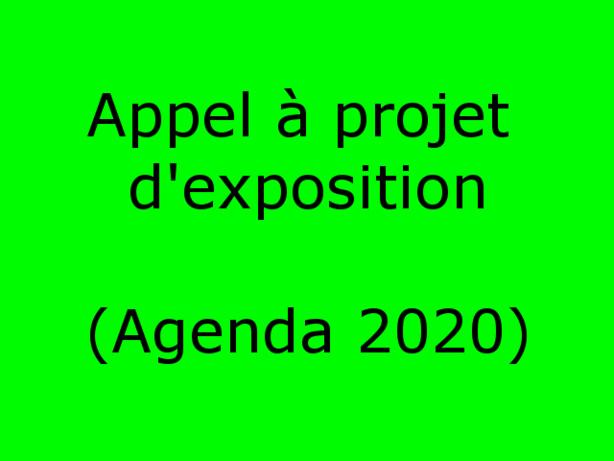 Call to artists / Appel à projet d'exposition