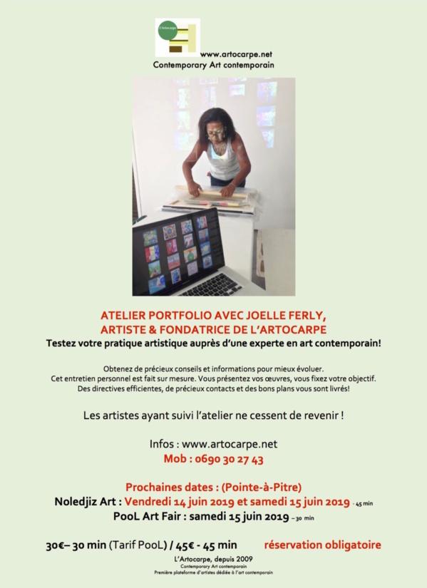 Atelier Portfolio Review: les 13 et 15 juin 2019!