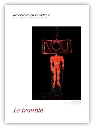 The latest issue of the Art review is now out! With on the front cover the work of one of our member: François Piquet