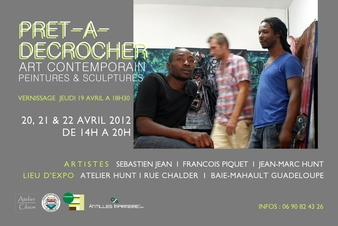 Le trio dans l'atelier de Sébastien à L'Artocarpe. Préparez votre chéquier!