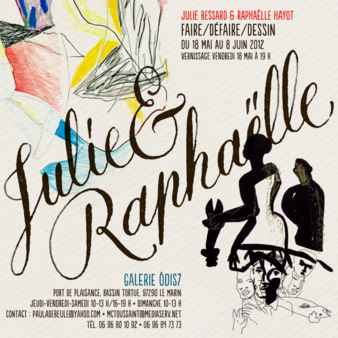 A joint exhibition with artiste Raphaelle