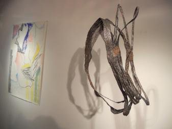 Julie Bessard's piece located on the second floor