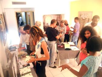 PooL Art Fair 2013- Galerie de L'Artocarpe à l'hôtel Fleur d'Epée. Juin 2013