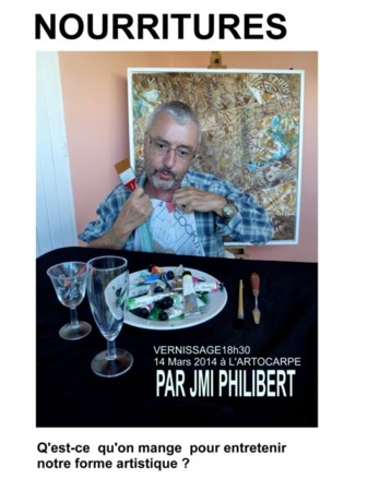 Private view of Jean-Michel Philibert's exhibition coming up!