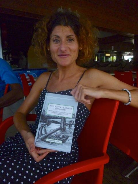 Fabienne Viala était en résidence à L'Artocarpe en Sept 2014. Elle est réinvitée en Guadeloupe pour participer au colloque international « Route de L'Esclave : des itinéraires pour réconcilier histoire et mémoire » en Décembre 2014.