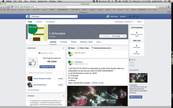 Please, join us on our Facebook page to get more details on our activities
