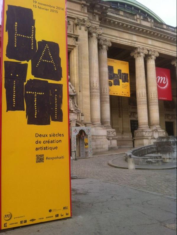 Exposition Haïti au Grand Palais (Paris) dont la Commissaire en chef est Régine Cuzin. Régine Cuzin est la Directrice Artistique de L'Artocarpe.