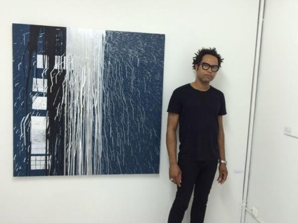 Sebastien Mehal à L'Artocarpe, 2014.