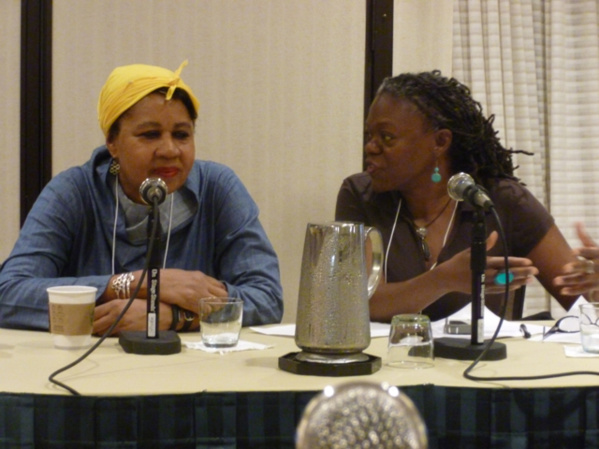 Jamaica Kincaid at the CSA conference, New Orleans, May 2015