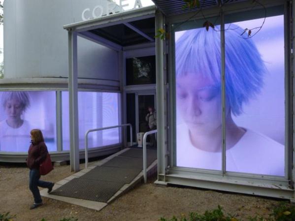 Visite de la Biennale
