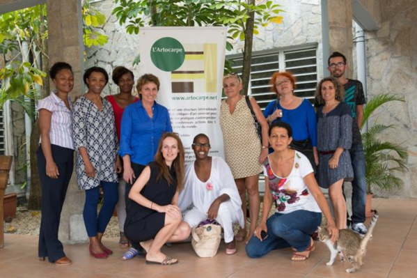 L'Artocarpe team at the end of the AGM, Martinique, Jan. 23rd.