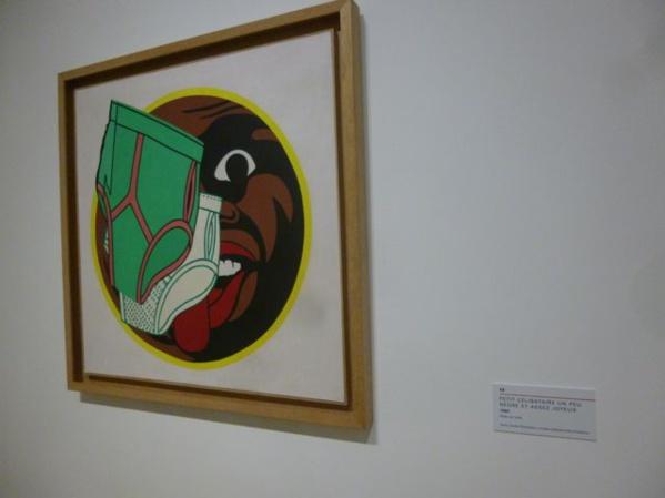 A piece by Hervé Télémaque