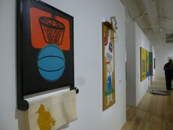 A view of the exhibition