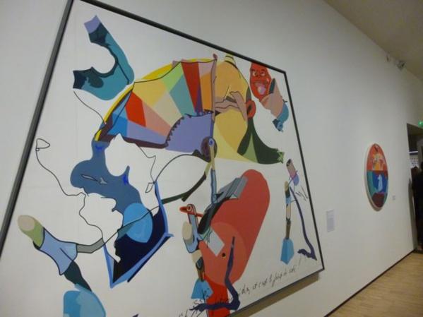 Hervé Télémaque's piece