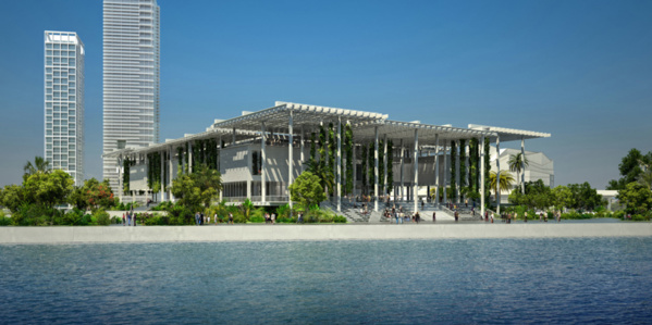 The Perez Art Museum in Miami, USA. Venue where the second edition of Tilting Axis is to take place