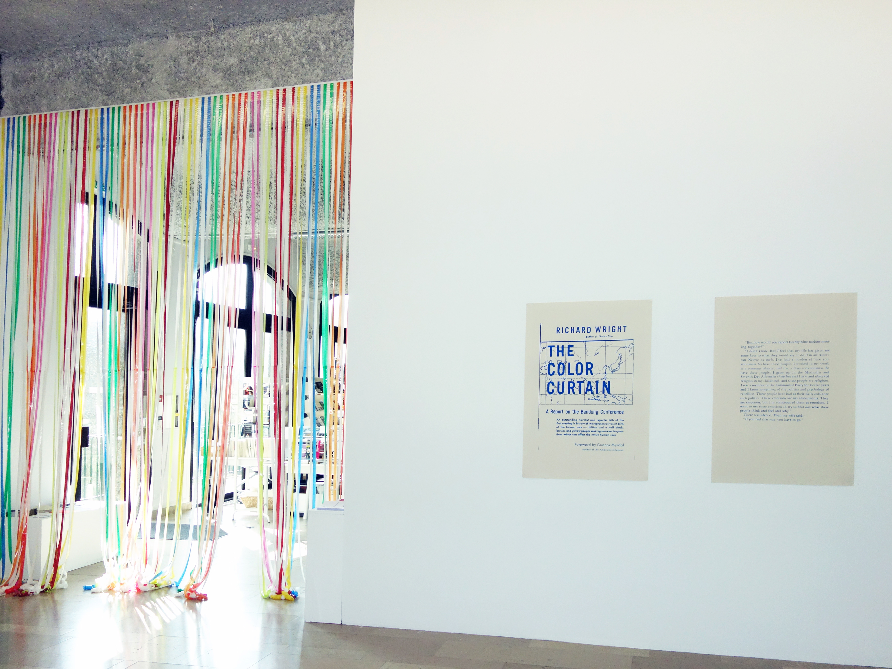 Nathalie Muchamad's view of the exhibition