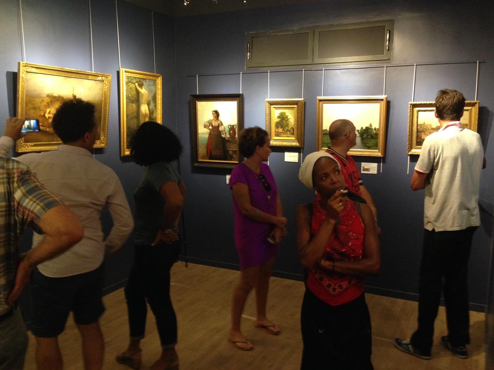 Musée des Beaux Arts de Saint-François, Guadeloupe avant l'ouverture officielle.. Photo: JF