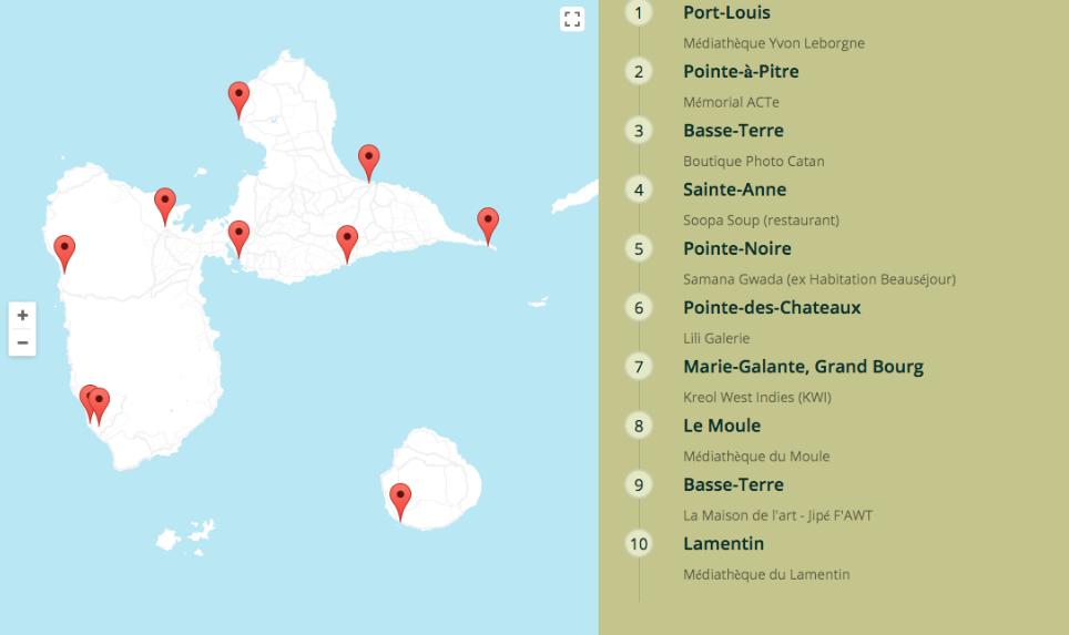 Parcourez la Guadeloupe de borne en borne! Visit Guadeloupe from story telling to story telling!