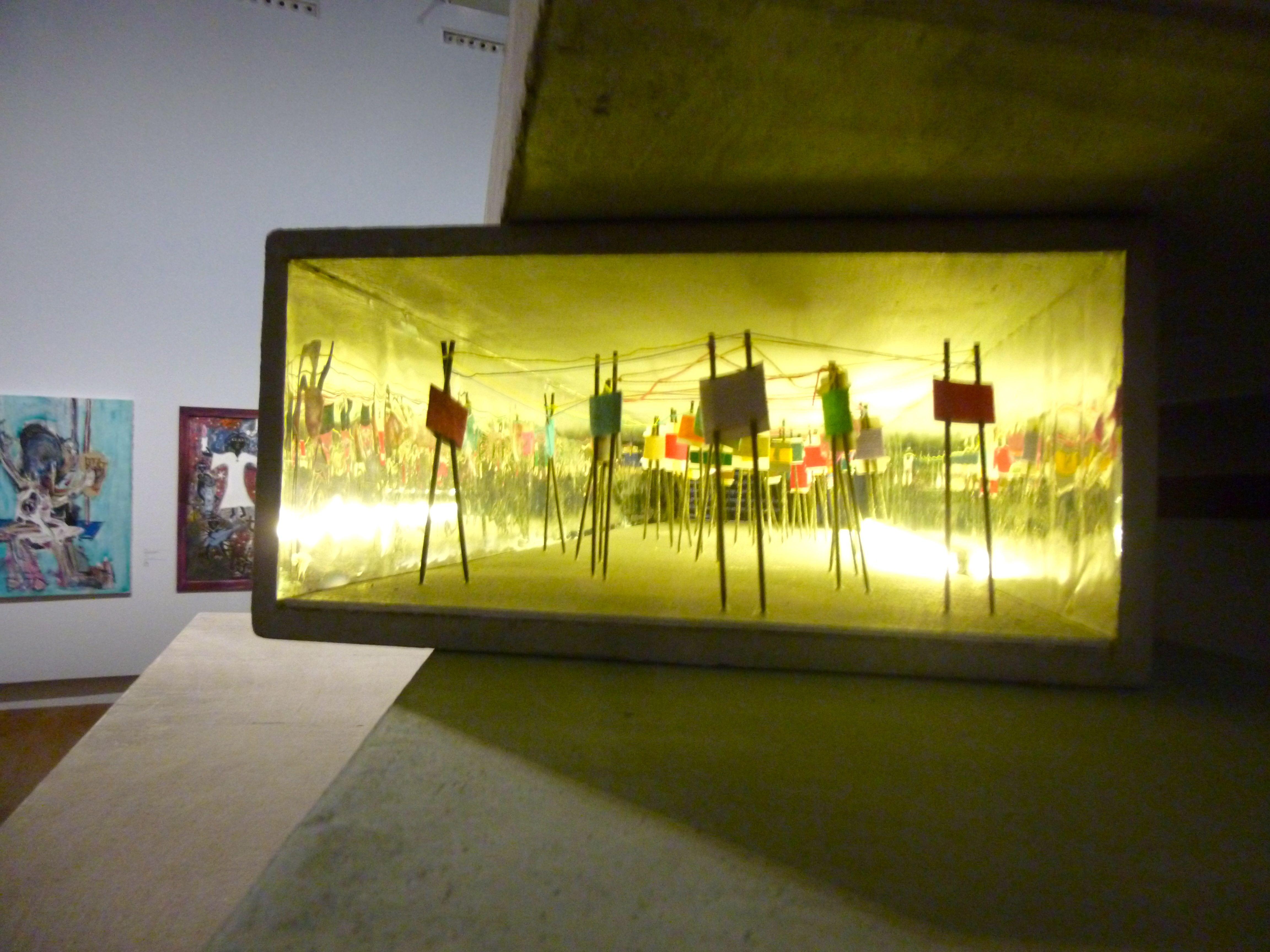 Oeuvre d'Elodie Barthélémy à l'exposition du Grand Palais