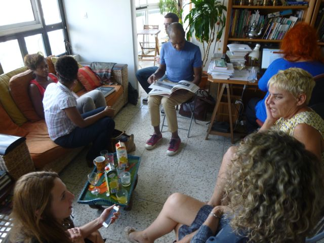 The new board celebrated our new chair at a member's home in Martinique.